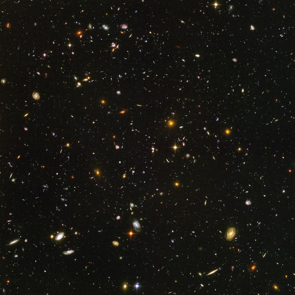 Hubble Ultra Deep Field.