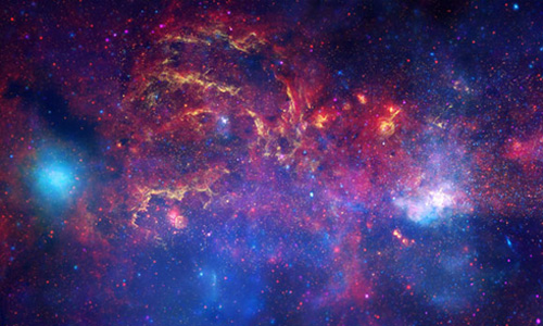 Image of the remnants of a star